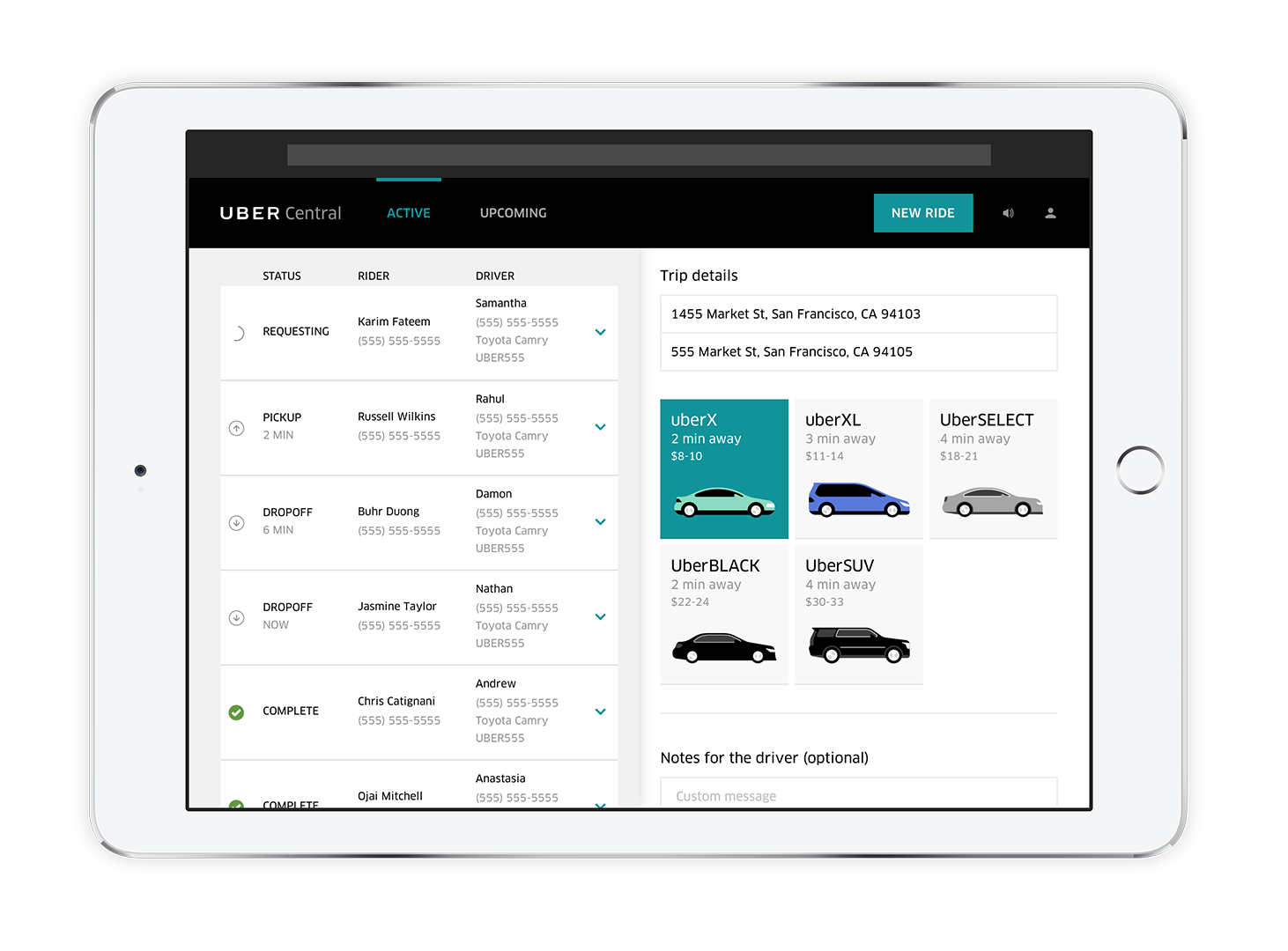 driving customers to businesses with ubercentral uber newsroom us