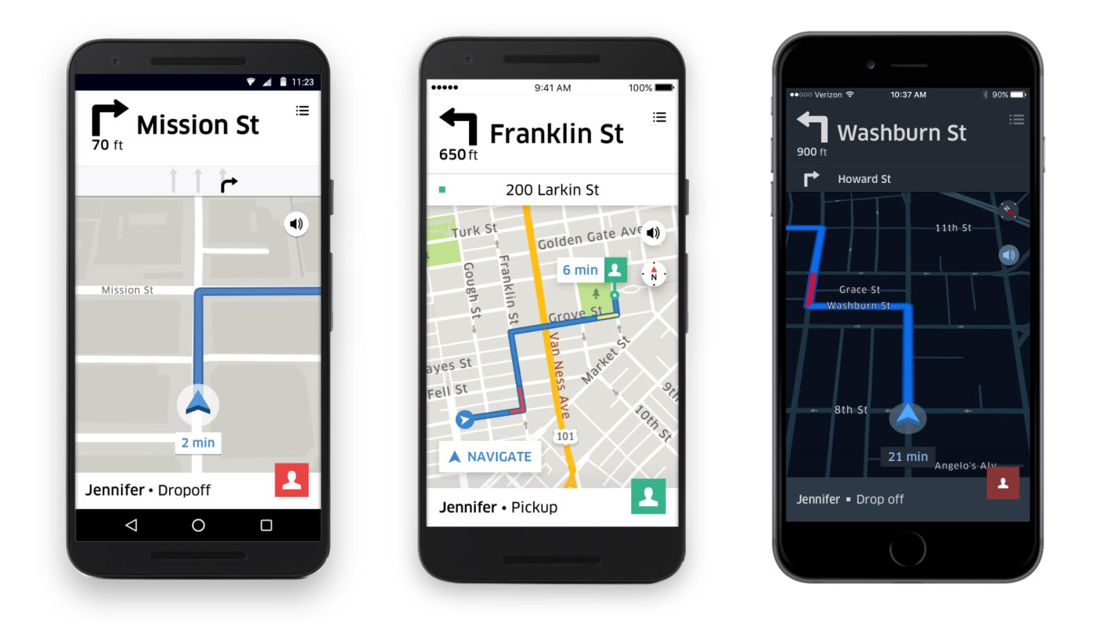 uber partner ios app