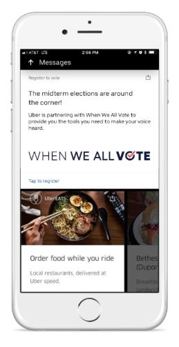 Uber Drives the Vote | Uber Newsroom