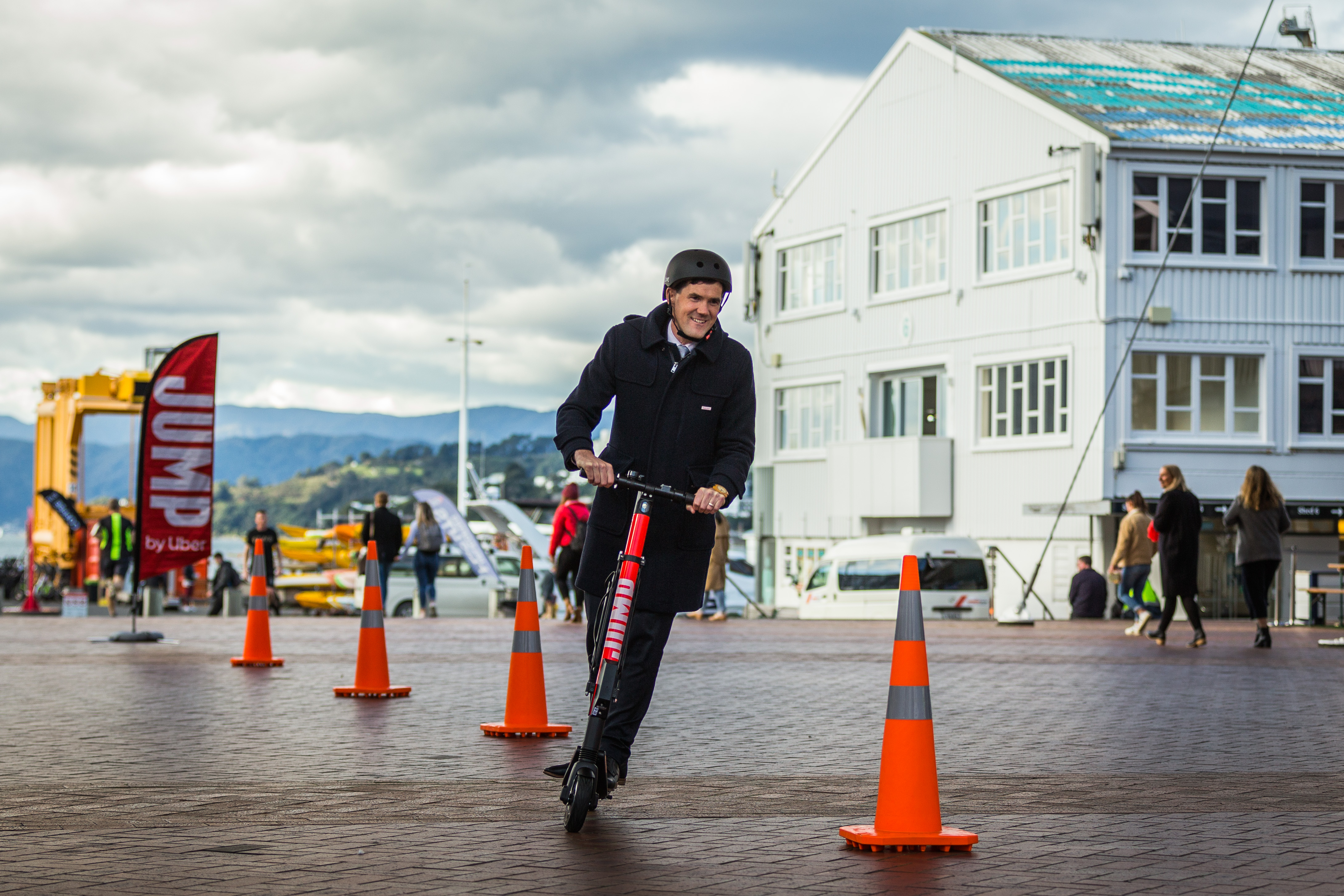 Riding into Wellington: JUMP scooters offer an affordable