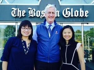 Shirley Leung, Mike Sheehan, Cathy Zhou