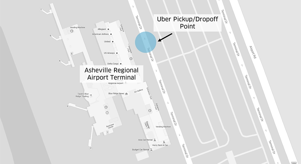 Asheville Regional Airport Your Uber Is Arriving Now Uber Newsroom