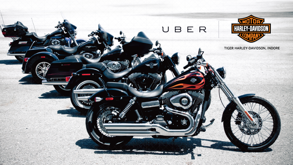 Indore, Your Harley Davidson Is Arriving Now | Uber Newsroom