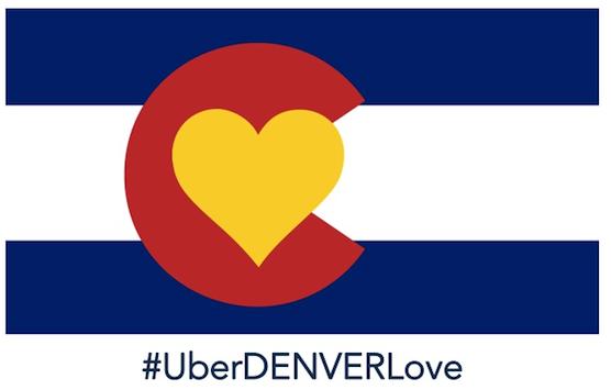 #uberdenverlove flag 2