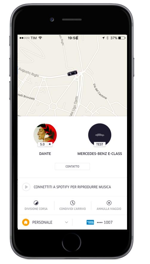 Uber black arriva a firenze uber newsroom for Stima del costo di due auto garage