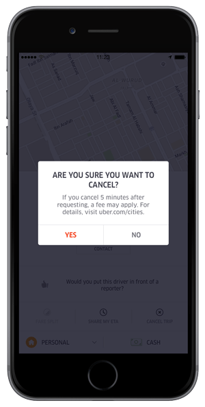 How To Cancel Uber >> Understanding Cash Cancellation Fees Uber Newsroom