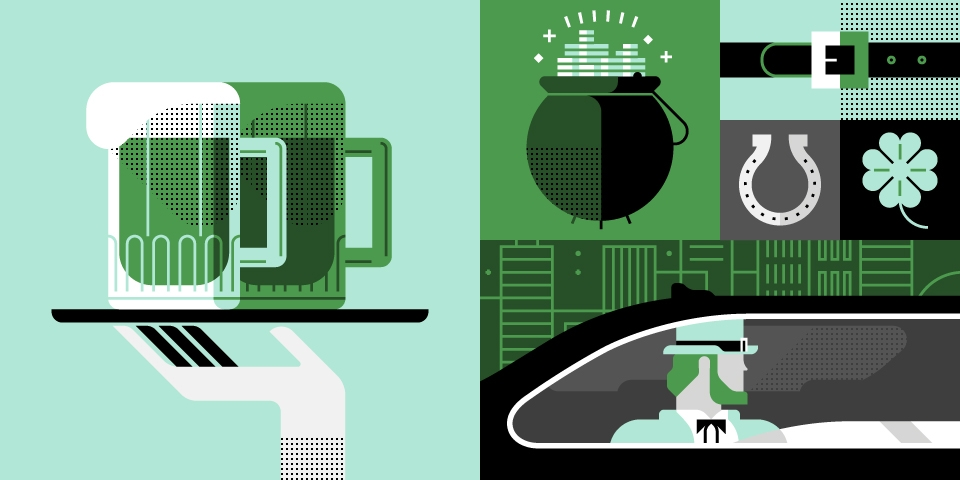 St patrick 39 s day ride guide uber newsroom us for Designated driver service business plan