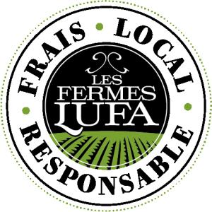 Lufa Farms logo (FR)