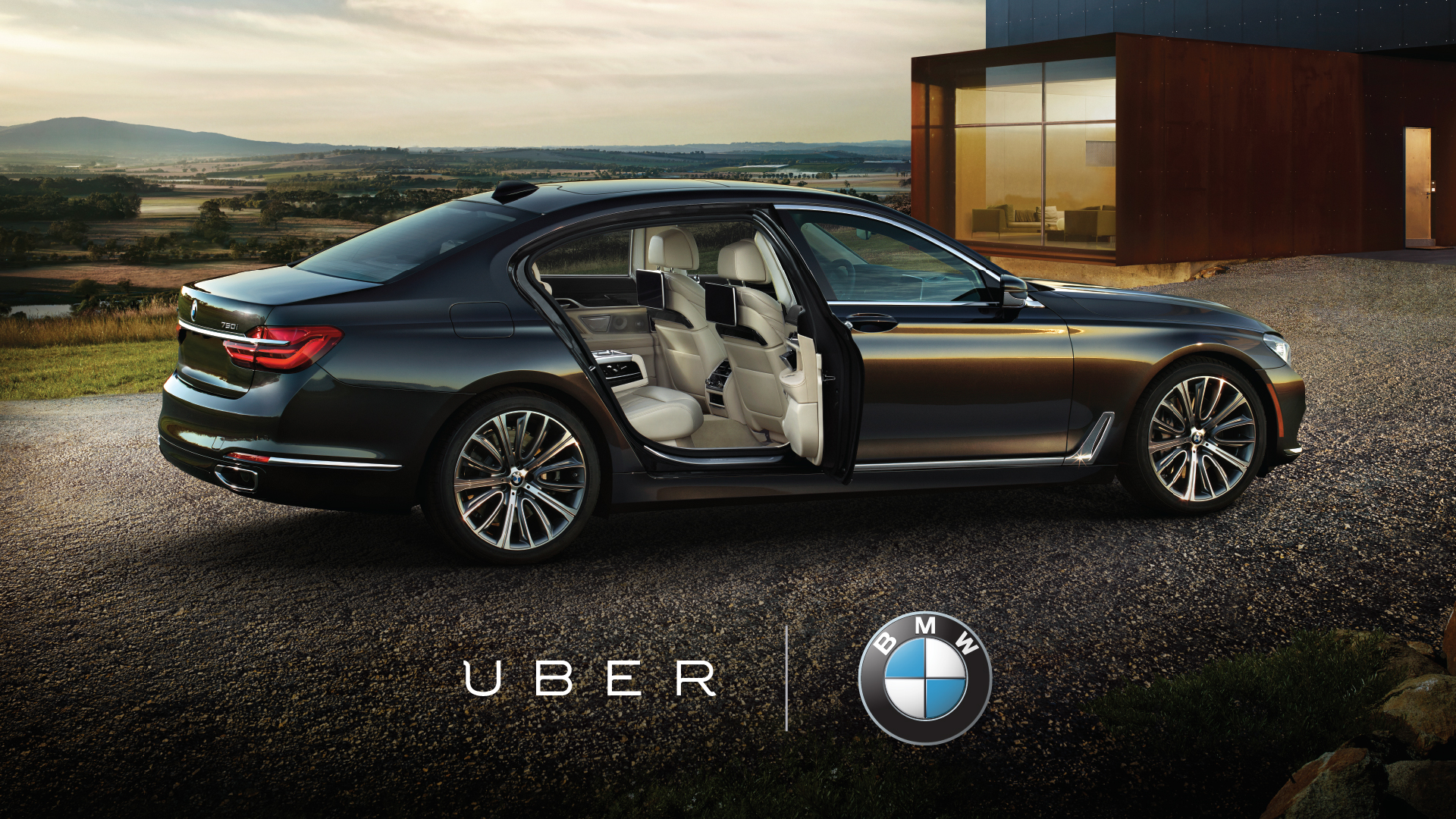 Your BMW 7 Series is Arriving Now | Uber Newsroom